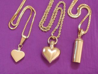 Pet Cremation Urn Necklace
