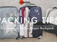 Five Steps to Pack a Proper Backpack