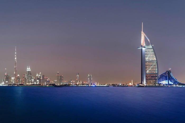 Abu Dhabi town
