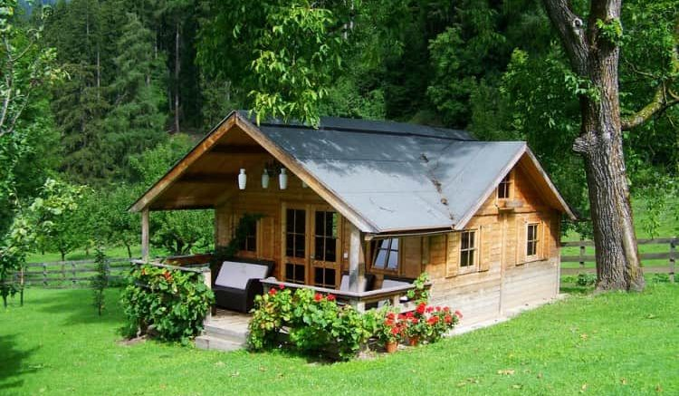 Wood building homes