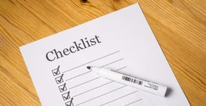 A checklist you can use to move long distance completely problem-free.