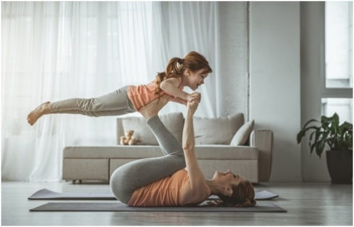 How Busy Mums Can Get Fit at Home
