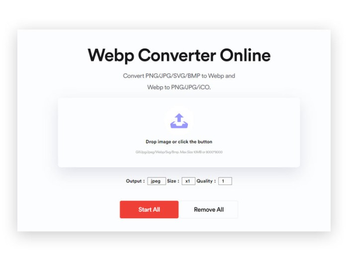 How to Convert JPG to WEBP in Batch Mode