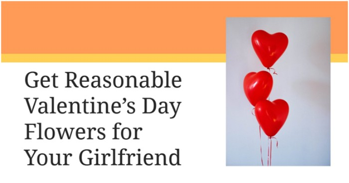 Get Reasonable Valentine's Day Flowers for Your Girlfriend
