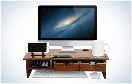 Ergonomic Desk Organizer