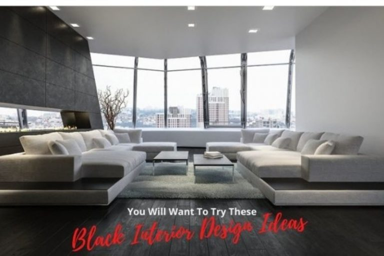 You will Want to Try These Black Interior Design Ideas