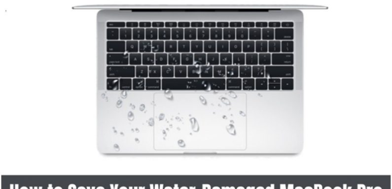 How to Save Your Water-Damaged MacBook Pro