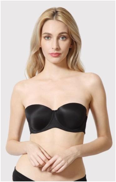 Strapless Push-up bra