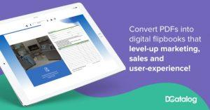 PDF and flipbook